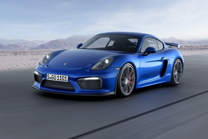 Salon de Genève 2015 - Porsche Cayman GT4, l'arme du week-end