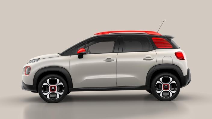 Citroën C3 Aircross: les Airbumps ont disparu au dernier moment