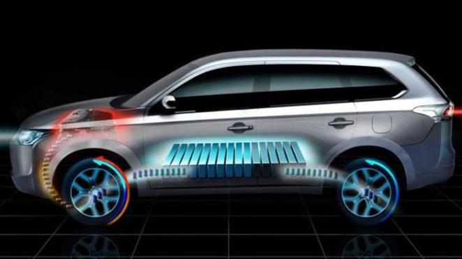 Guide des stands Mondial 2012 : un Mirage chez Mitsubishi