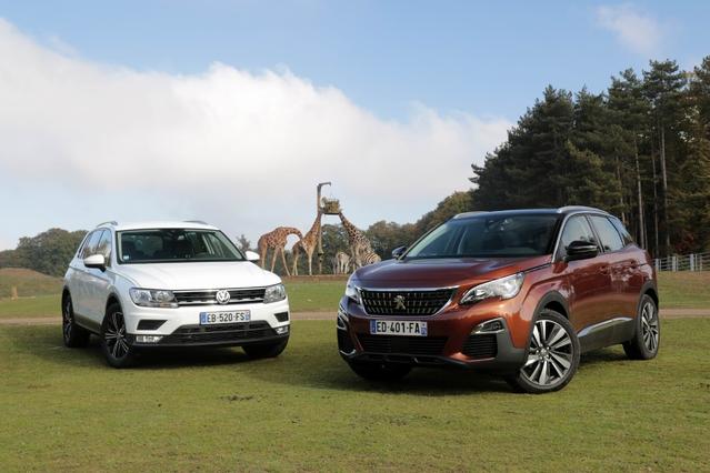 Comparatif vidéo – Peugeot 3008 vs Volkswagen Tiguan : qui est le roi de la jungle ?