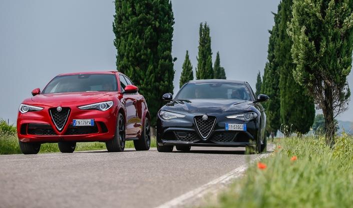 En marge du Mondial de l'Auto 2018… - Alfa Romeo met à jour les Giulia et Stelvio
