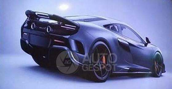 Scoop : voici l'arrière de la McLaren 675LT