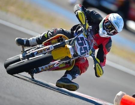 Supermotard, championnat de France 2013, round 5: Bougard s'empare du Castellet