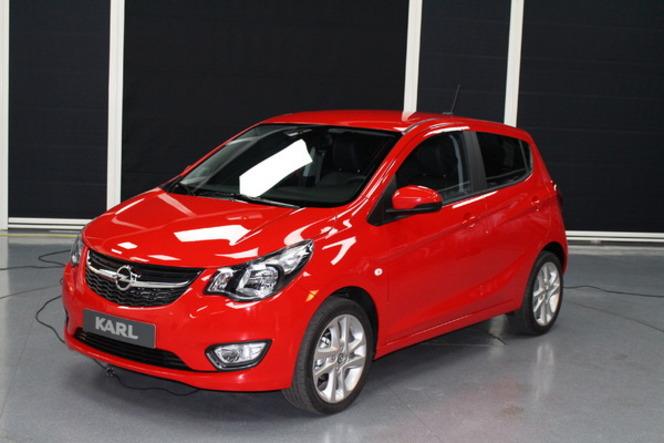 Salon de Genève 2015 – Opel Karl, citadine accessible