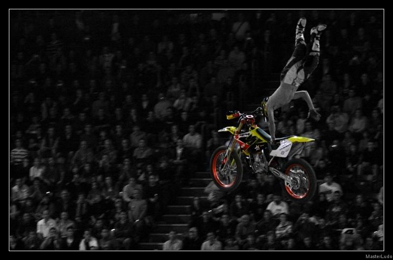 Les photos de Caradisiac moto : Supercross de Bercy