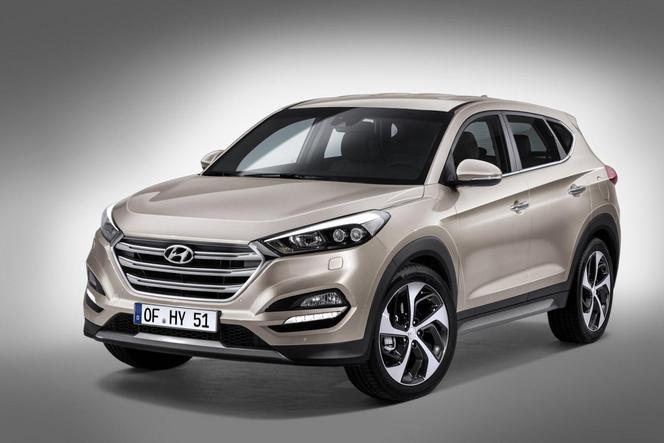 Salon de Genève 2015 - Hyundai Tucson, baroudeur viril