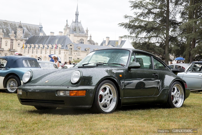photos du jour porsche 911 964 turbo 3 6 concours d 39 elegance de chantilly. Black Bedroom Furniture Sets. Home Design Ideas