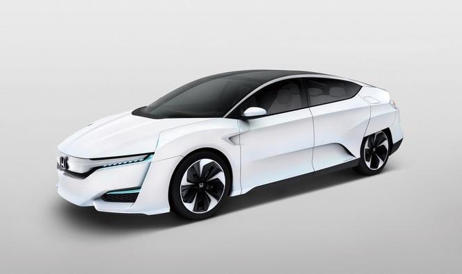 Salon de Genève 2015 – Honda FCV, seconde offre hydrogène japonaise