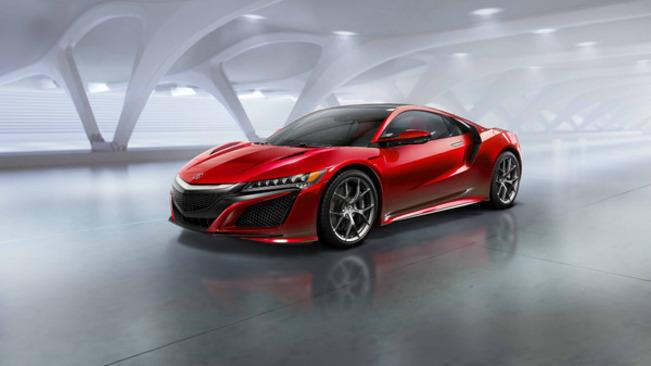 Salon de Genève 2015 – Honda NSX, le retour