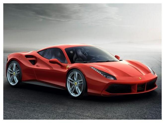 Salon de Genève 2015 –  Ferrari 488 GTB, pleine de souffle