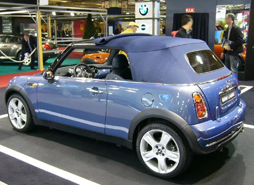 Salon du cabriolet et du coup 2004 for Salon cabriolet