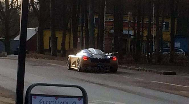 Scoop : est-ce là la Koenigsegg Regera ?