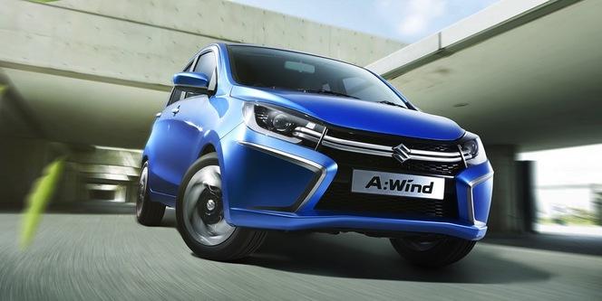 Thailand Motor Show 2013 : Suzuki A:Wind Concept, future citadine globale
