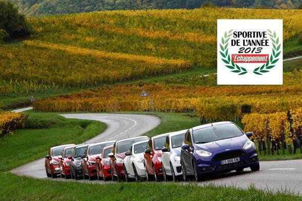 La Ford Fiesta ST élue Sportive Echappement de l'année 2013