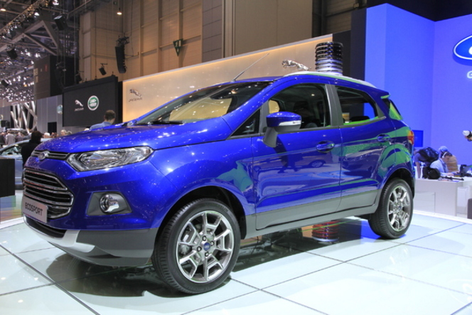 Ford dévoile les tarifs de l'Ecosport