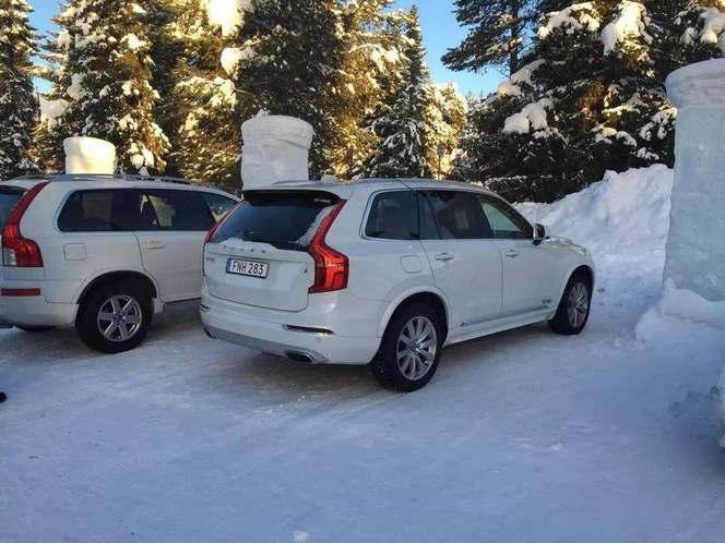 Surprise : voici le nouveau Volvo XC90 dans la nature