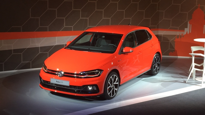 les premi res images en live de la nouvelle volkswagen polo. Black Bedroom Furniture Sets. Home Design Ideas