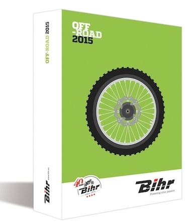 Bihr: les catalogues off-road 2015 arrivent avec cette fois, une version online