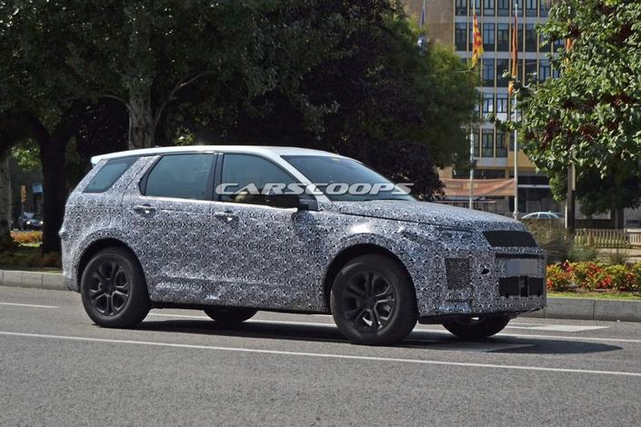 Le Land Rover Discovery Sport prêt pour le repoudrage