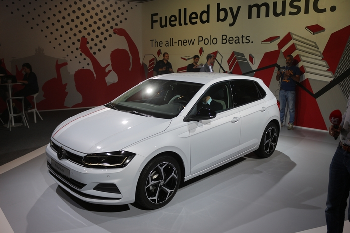 Salon de Francfort 2017 - Volkswagen Polo : mini Golf