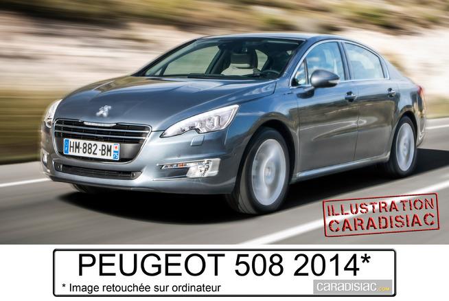 La Peugeot 508 sera restylée l'an prochain