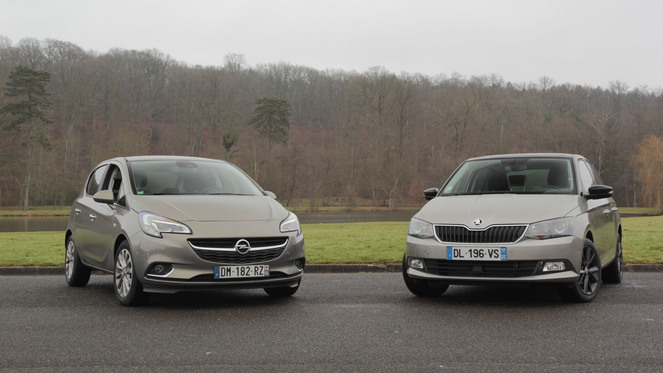 Comparatif vidéo - Opel Corsa vs Skoda Fabia : les challengers