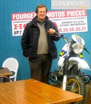 Interview d'Hubert Auriol: retour sur ses débuts en rallye raid.
