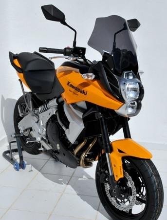 Bulle Ermax pour la Kawasaki 650 Versys millésime 2010.