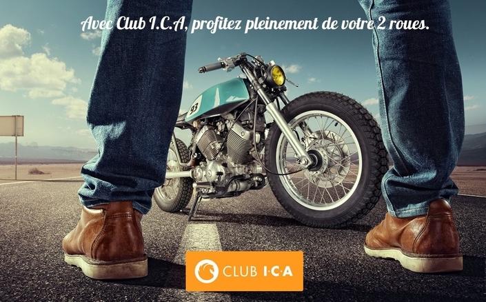 Lancement du Club I.C.A pour tous les 2 roues