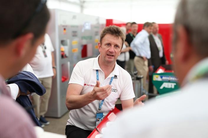 """Allan McNish, coordinateur du projet Audi en Formule E: """"à partir de la saison 5, les choses vont bouger, tout sera neuf!"""""""
