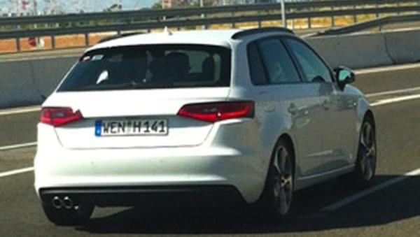 Mondial de Paris 2012 - La future Audi A3 Sportback surprise!