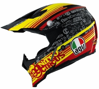AGV AX-8: TP 199 version Travis Pastrana.
