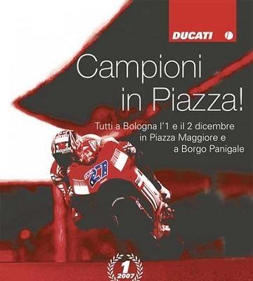 Moto GP: Ducati vous invite chez lui pour sa fête