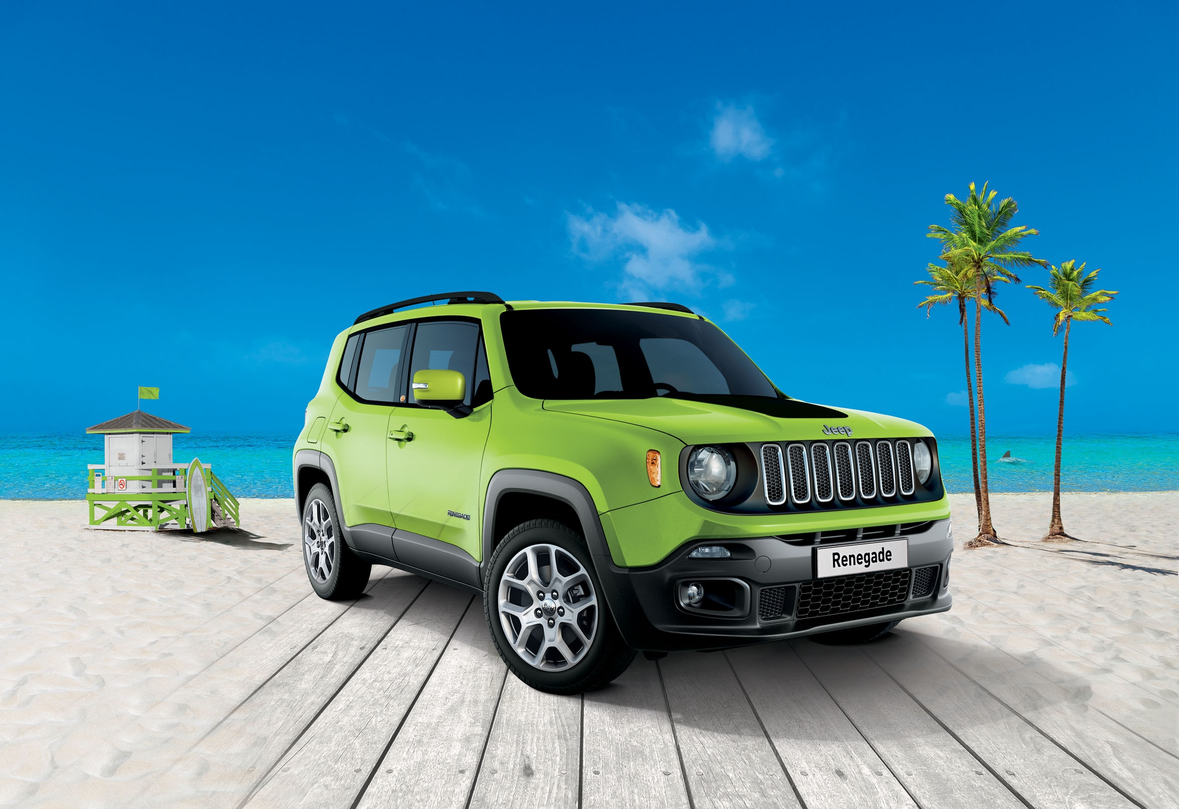 jeep renegade une nouvelle s rie limit e south beach. Black Bedroom Furniture Sets. Home Design Ideas