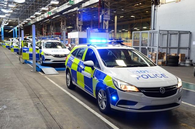 Opel ouvre une usine exclusivement réservée aux véhicules de police