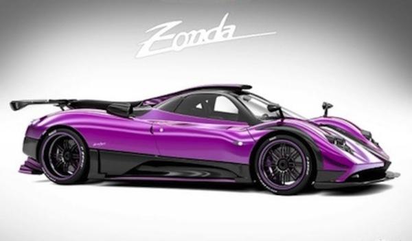 """Pagani Zonda 764 Passione: encore une """"dernière"""" Zonda..."""