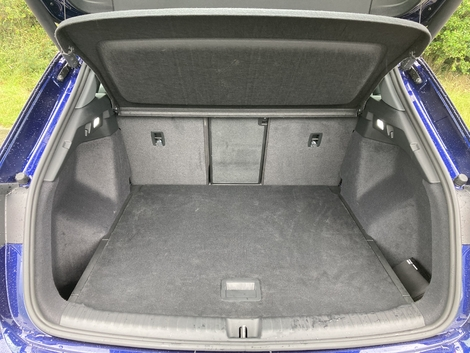 The 520-liter trunk makes it easy to go on vacation.