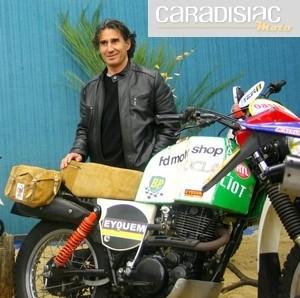 Interview de Cyril Neveu: collectionneur de victoires en rallyes raids et de motos classiques...