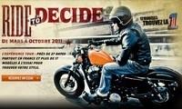 """Harley Davidson : opération """"Ride to Decide"""""""