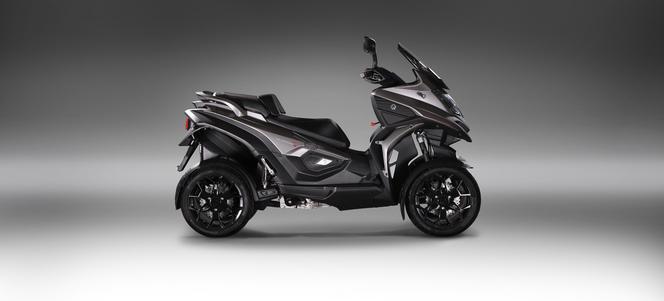 Quadro 4 - un tarif de 10 490 € pour le premier scooter 4 roues