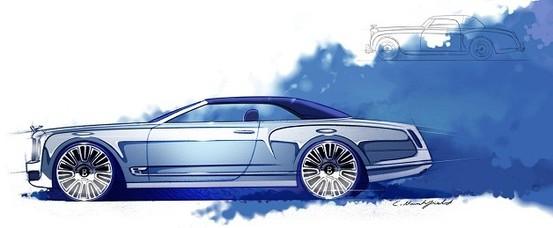 Bentley Mulsanne cabriolet: feu vert avant fin 2012