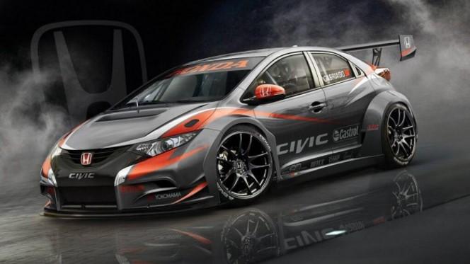 WTCC - Honda lève le voile sur sa Civic 2014
