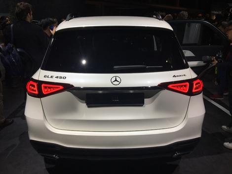 Mercedes GLE - avec une offre 7 places : vidéo en avant-première du Mondial de l'auto