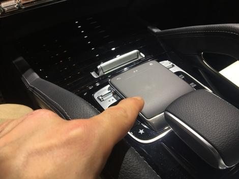 Le Pad qui permet de piloter les fonctions multimédia n'est toujours pas ergonomique.