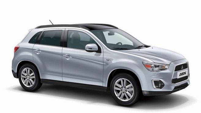 Mondial de Paris 2012 - Le Mitsubishi ASX restylé y sera