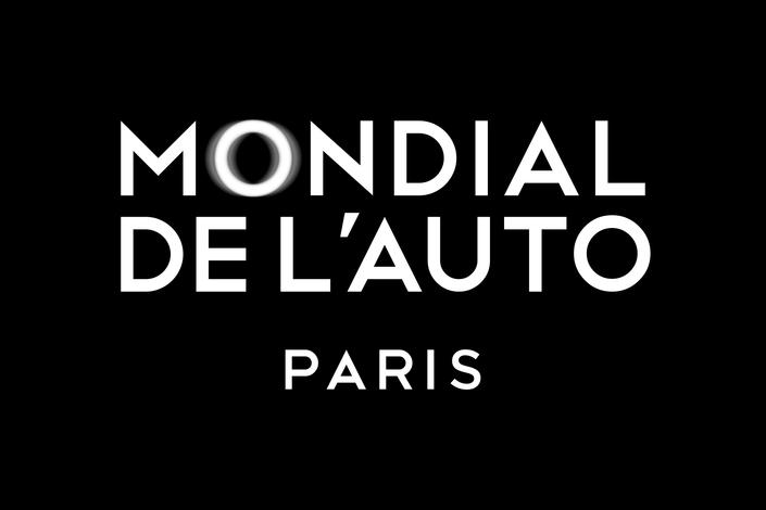 """Le Mondial de l'auto adopte une nouvelle identité graphique, voulue plus luxueuse et plus moderne. Le """"O"""" vibré de Mondial fait référence à la mobilité."""