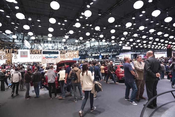 Objectif du Mondial de l'auto 2018: rester au-dessus du seuil du million de visiteurs.