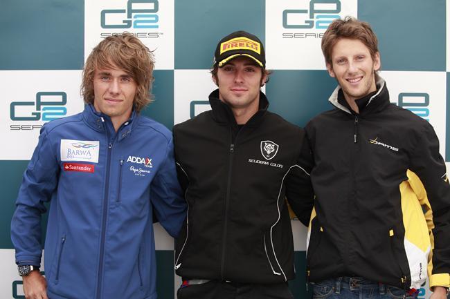 GP2 Nürburgring Courses 1 & 2 : Filippi mate les Français puis Grosjean au talent