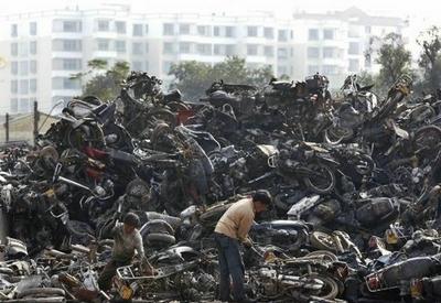 Photo du jour : Génocide de deux roues ?
