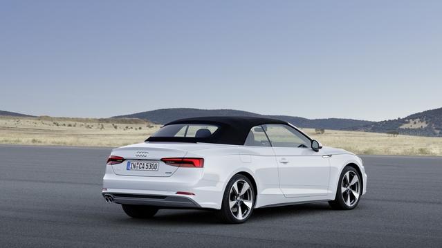 Audi : après le coupé et le Sportback, voici l'A5 cabriolet